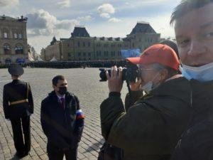 На Параде Победы на Красной Площади 2021